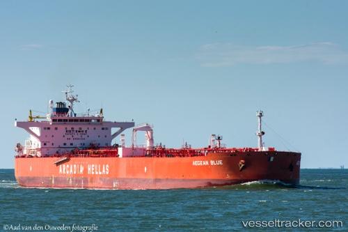 Aegean Blue - Tankship, IMO 9346720, MMSI 240699000, Callsign SYRW